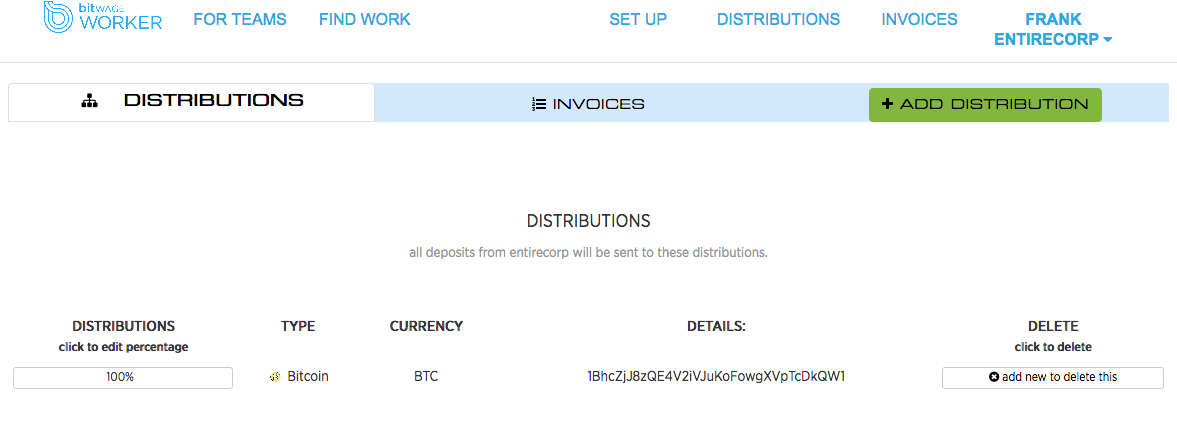 Receiving wages in india tutorials bitwage community from here your wages will be distributed in bitcoin and its up to you to sell within your walletexchange ccuart Images